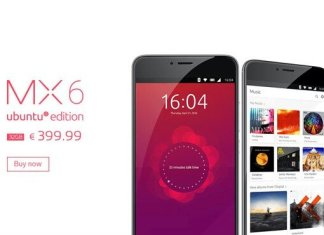 Meizu MX6 Ubuntu Edition
