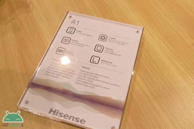 IFA 2016 Hisense A1 hands-on