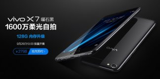 Vivo x7 obsidian black