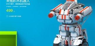 robot giocattolo modulare Xiaomi
