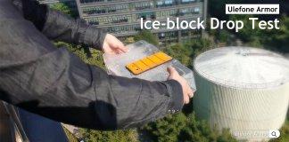 Ulefone Armor test ghiaccio