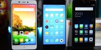 Nubia N1 Meizu M3 Note Xiaomi Redmi Note 3 Pro confronto
