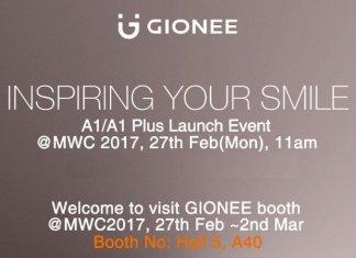 gionee a1 plus mwc 2017