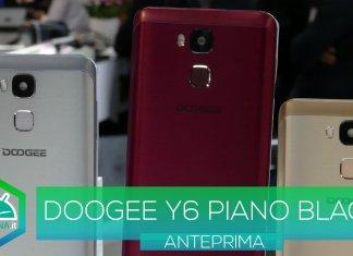 doogee y6 piano black