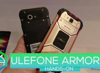 Ulefone Armor 2 hands-on MWC 2017