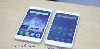 xiaomi redmi note 4 mediatek qualcomm