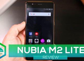 Nubia M2 LITE copertina