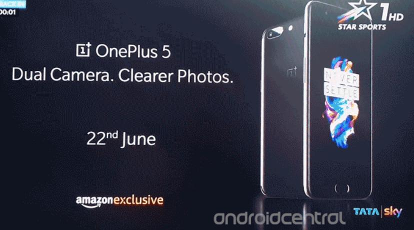 OnePlus 5, nuova immagine e specifiche complete