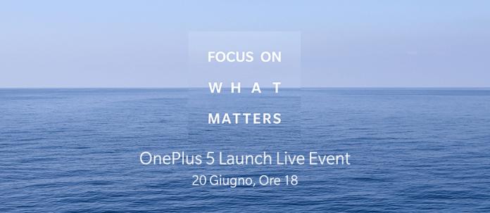 oneplus 5 presentazione ufficiale