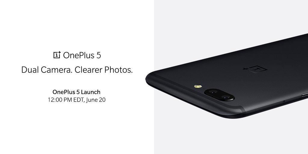 È ufficiale: OnePlus 5 arriva il 20 giugno
