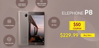 elePhone P8 GearBest