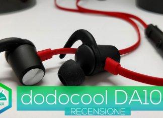 Recensione dodocool DA109 - Cuffie Bluetooth per lo sport