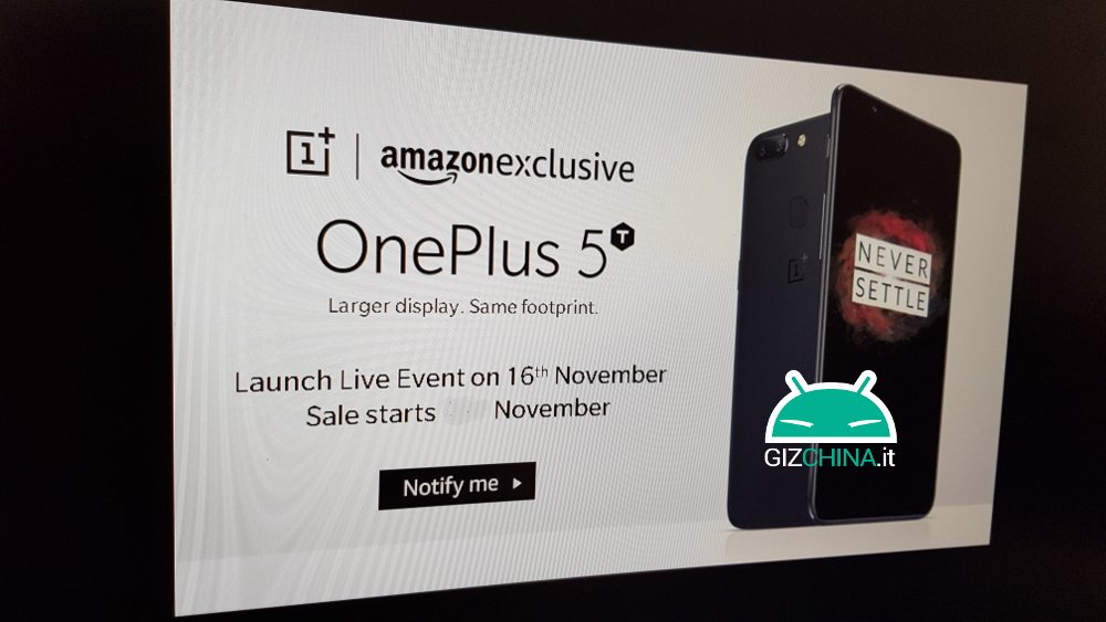 OnePlus 5T si mostra su AnTuTu, ecco le specifiche!
