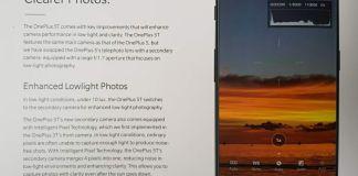 OnePlus 5T scheda tecnica