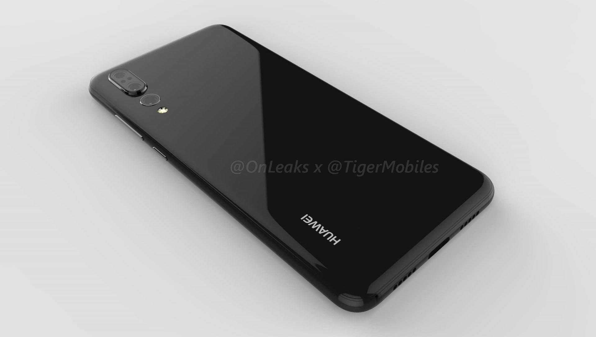Huawei P20 Plus, è questa la tripla fotocamera posteriore?