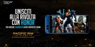 honor collabora universal studios film Pacific Rim