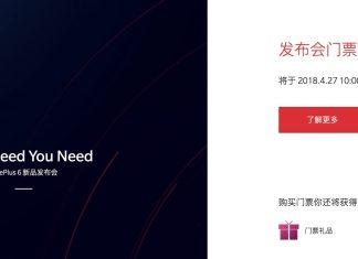 OnePlus 6 data di lancio