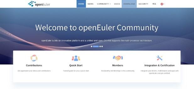 openEuler une distribution Linux