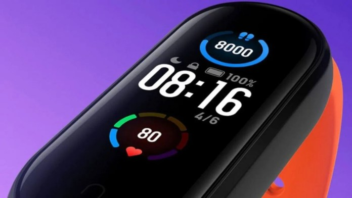 xiaomi mi band temperature