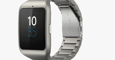 Stainless Steel Sony SmartWatch 3 [CES 2015]