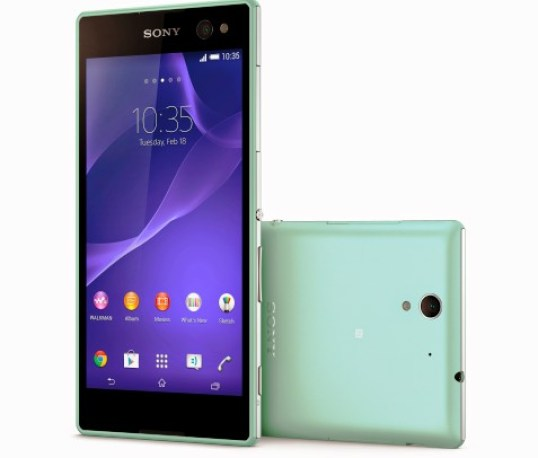 Sony Xperia C3 Selfie Smartphone Announced With 5 MP Wide-Angle Front Camera