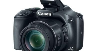 Canon PowerShot SX530 HS Unveiled [CES 2015]