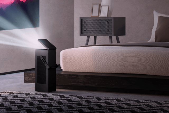 LG HU80KA Is World's First 4K UHD Projector