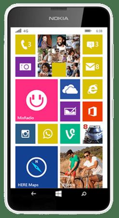 Nokia Lumia 638 – The Best Windows Phone Under Rs. 10,000