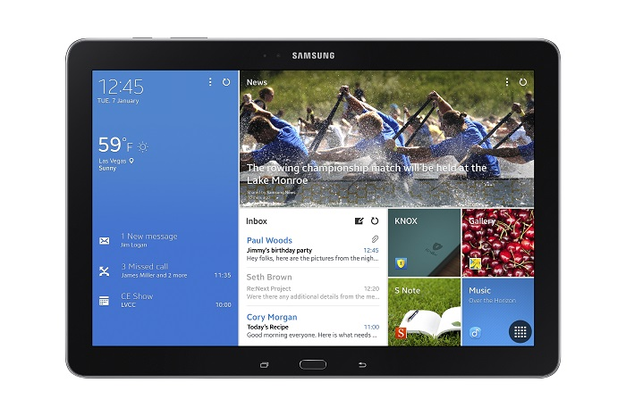 Samsung Galaxy TabPro Series Officially Announced [CES 2014]