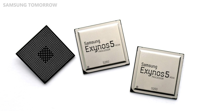 Samsung Unveils Octa-core Exynos 5422 and Hexa-core Exynos 5260 Chipset [MWC 2014]