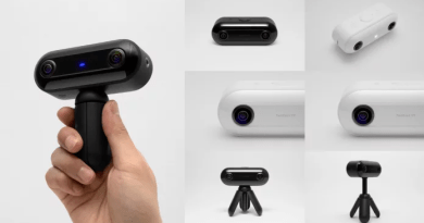 TwoEyes VR Is The First Binocular 360 Degree VR 4K Camera [CES 2018]