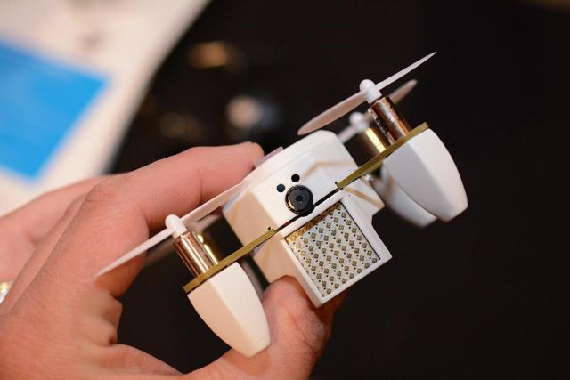 ZANO Drone Is A Palm-Sized Nano Drone [CES 2015]