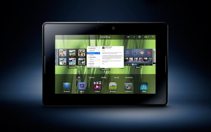 BlackBerry Playbook OS receives the new Update