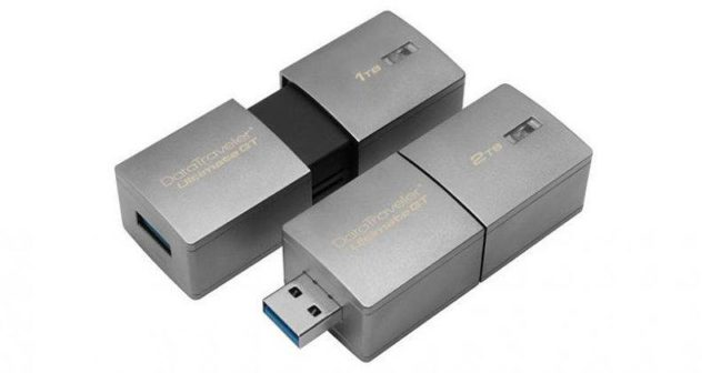 2TB Kingston DataTraveler Ultimate GT Is World's Highest Capacity Flash Drive