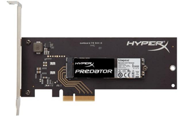 Kingston HyperX Predator PCIe SSD