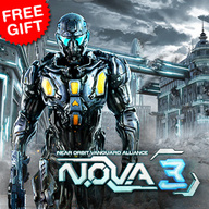 NOVA 3 is the best action game now available for Nokia Asha 501