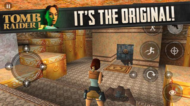 Original Tomb Raider Now Available For iOS Devices