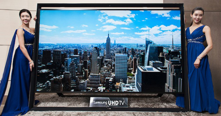 Samsung Launches The World's Largest 110-inch UHD TV Ahead Of CES 2014, To Go On Sale On Monday
