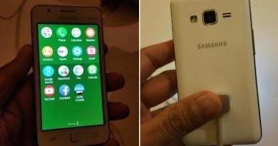 Tizen Based Samsung Z1 Specifications leaked