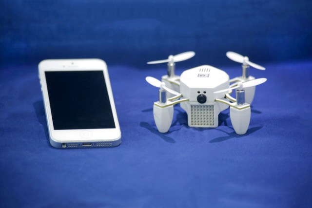 ZANO Drone Is A Palm-Sized Nano Drone [CES 2015]