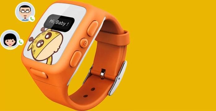 Umeox W268, une smartwatch pour enfants très complète