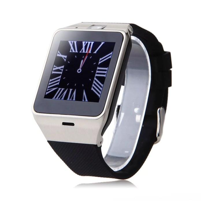 Smartwatch GV18, une montre intelligente avec caméra et carte SIM