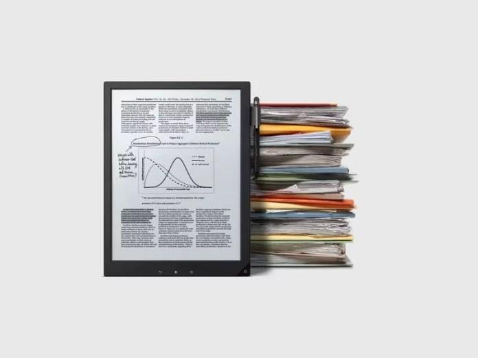 Sony DPT-RP1 : une tablette à encre électronique