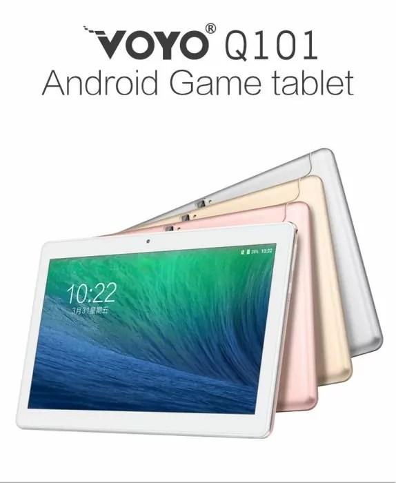 Voyo Q101 4G : La tablette pour la rentrée