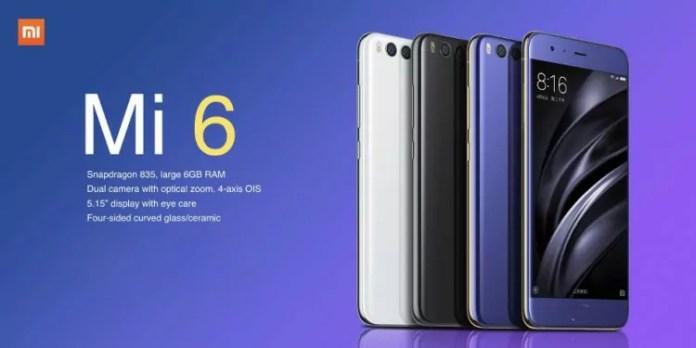 Xiaomi MI 6 : Un téléphone d'agent secret ?