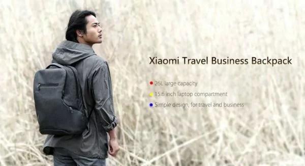 Xiaomi 26l Travel bag : Un Sac a dos design pour votre électronique