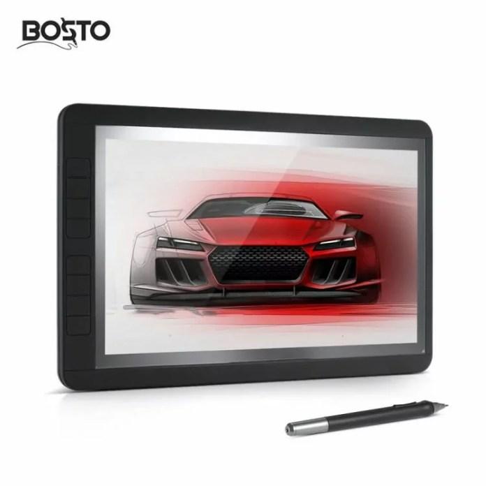 BOSTO 13HD : Une énorme tablette graphique