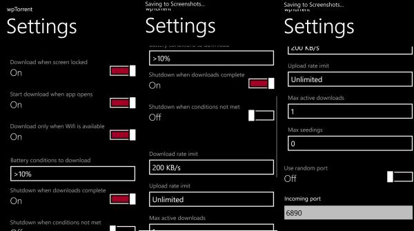 Download torrents on window phone 8 with wptorrent app