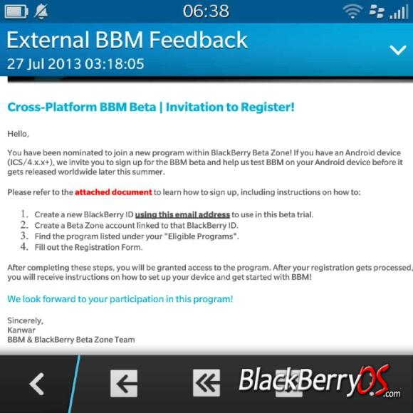 BBM beta now available for Android and iOS