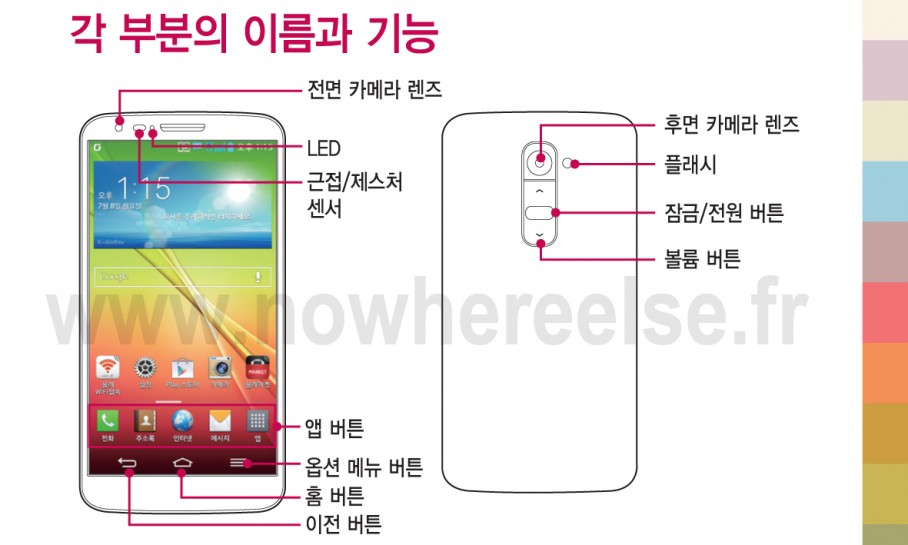 LG G2 user manual